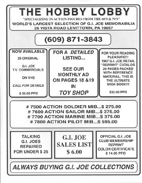 GIJOE Headquarters Quarterly Magazine Issue Number One Page 19